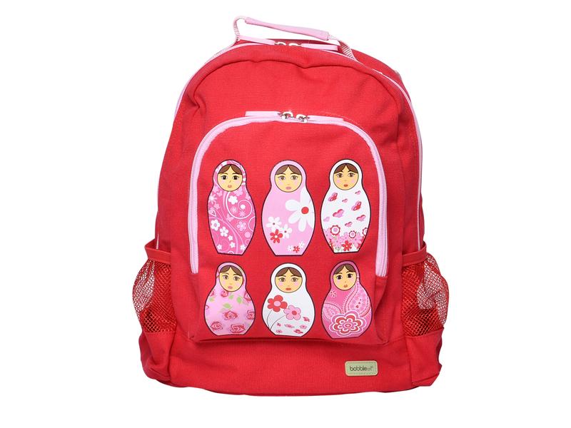 Bobble Art Dětský batoh velký červený / růžový