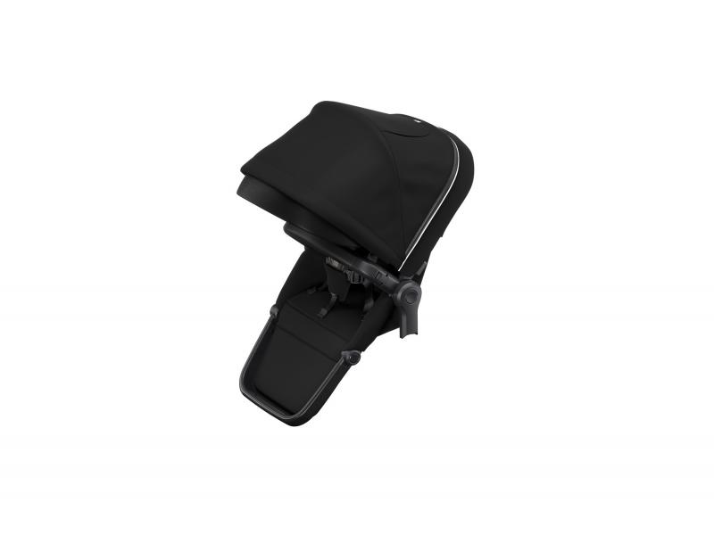 Sleek Sibling Seat Midnight Black on Black 1