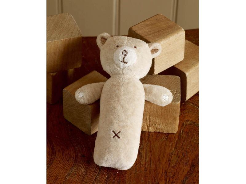 Chrastítko pískací Hug Me Bear 1