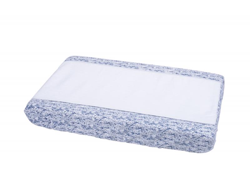 Přebalovací podložka (povlak) malá modrá 1