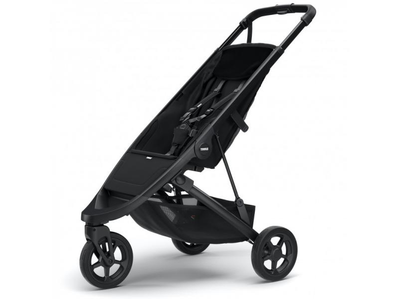 Spring Stroller Black 1