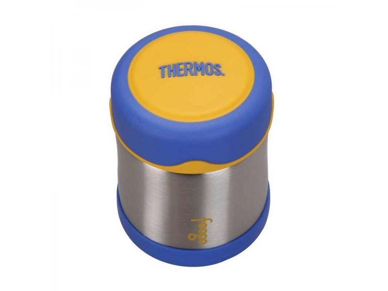 Kojenecká termoska na jídlo - modrá 2 4b969c65fd8