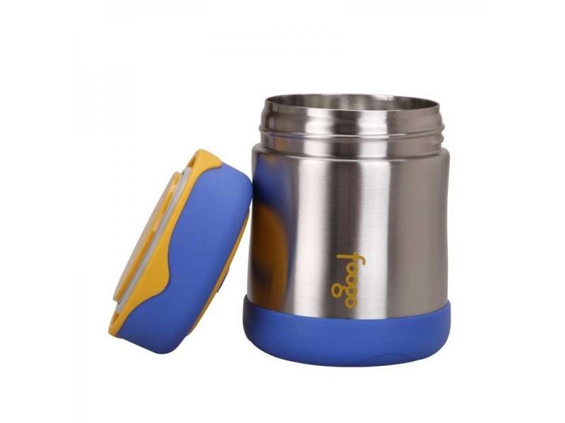 Kojenecká termoska na jídlo - modrá 3 2af061df6c7