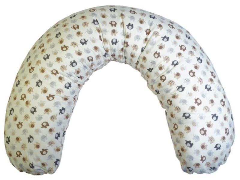 LittleUp Elephant beige Potah na kojící polštář