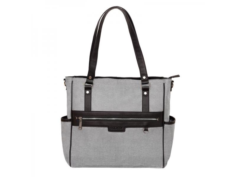 Přebalovací taška na kočárek LILY, grey melange 1