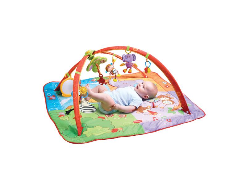 Hrací deka s hrazdou Gymini® Move&Play 1