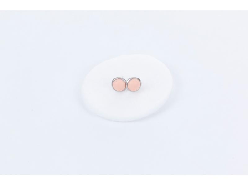 Náušnice meruňkové 1