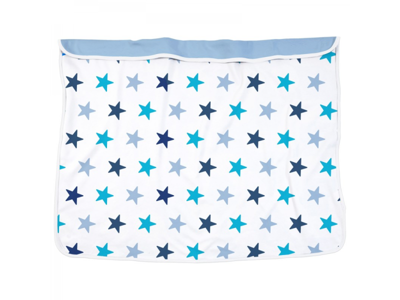 Dooky Deka Blanket Blue Stars / Baby Blue