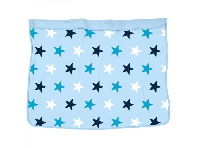 Deka Blanket Baby Blue / Blue Stars 1