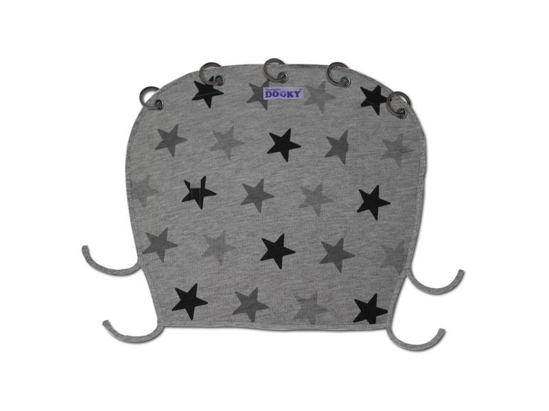 Dooky Clona Design Grey Stars