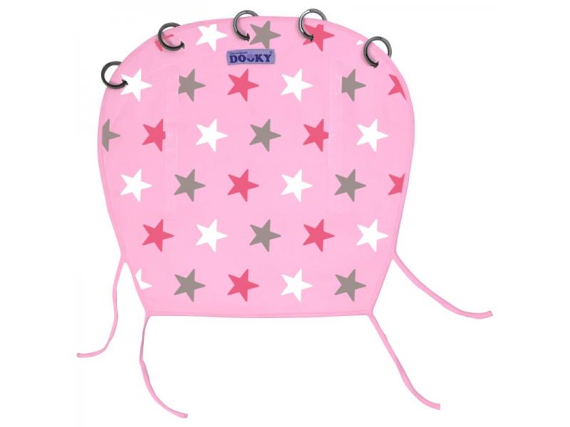 Dooky Clona Baby Pink / Pink Stars
