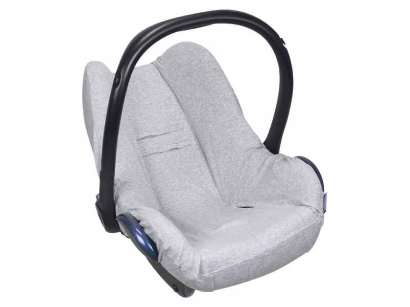 Seat Cover 0+ UNI LIGHT GREY MELANGE 1