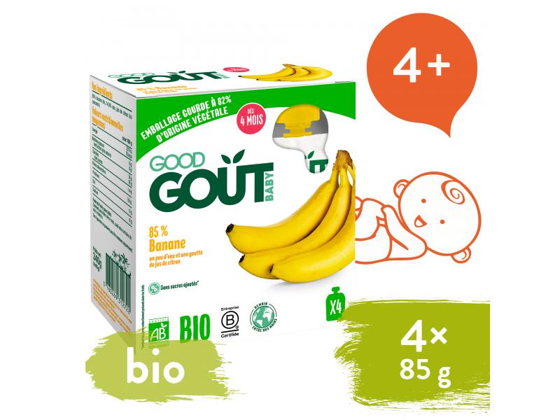 BIO Banán (4x85 g) 1