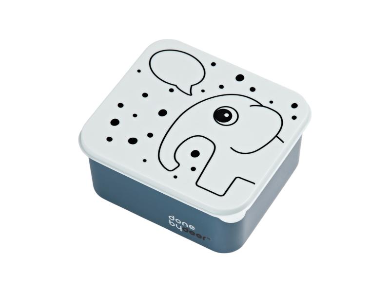 OBĚDOVÝ BOX CONTOUR - modrý 1
