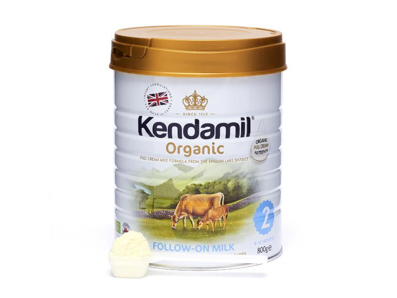 KENDAMIL 100% BIO - organické plnotučné pokračovací mléko 2 (800g) 1