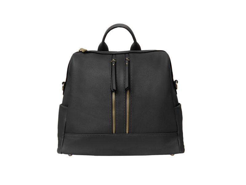 Přebalovací batoh a taška na kočárek 2v1 MINI, black 1