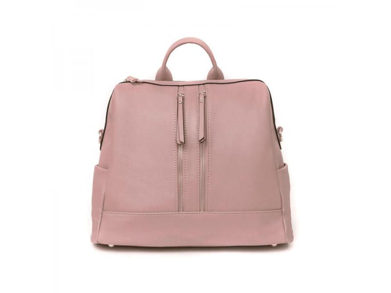 Přebalovací batoh a taška na kočárek 2v1 MINI, dusty pink 1
