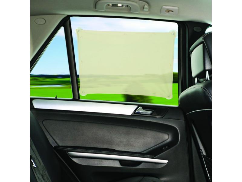 Stínítko na zadní okno auta- univerzální béžová 1