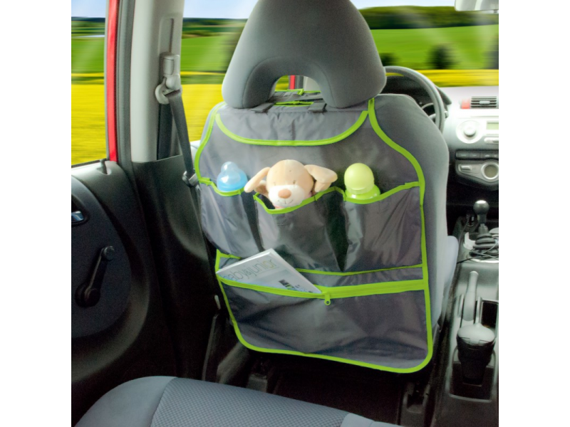 Diago Organizér do auta - zelená/ šedá