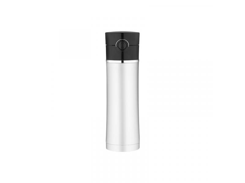 Thermos Mobilní termohrnek - nerez / černá