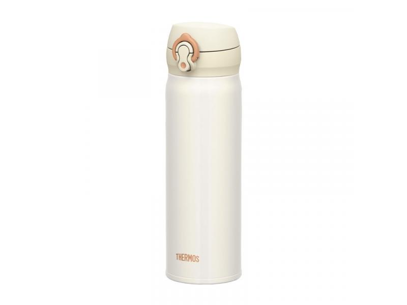Thermos Mobilní termohrnek - perleťově bílá