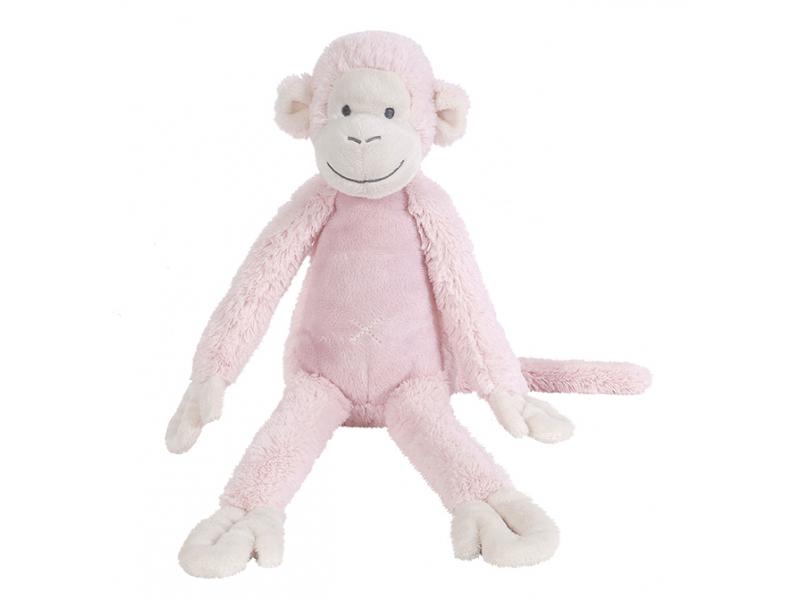 Růžová  Opička Mickey no. 2 vel.43 cm 1