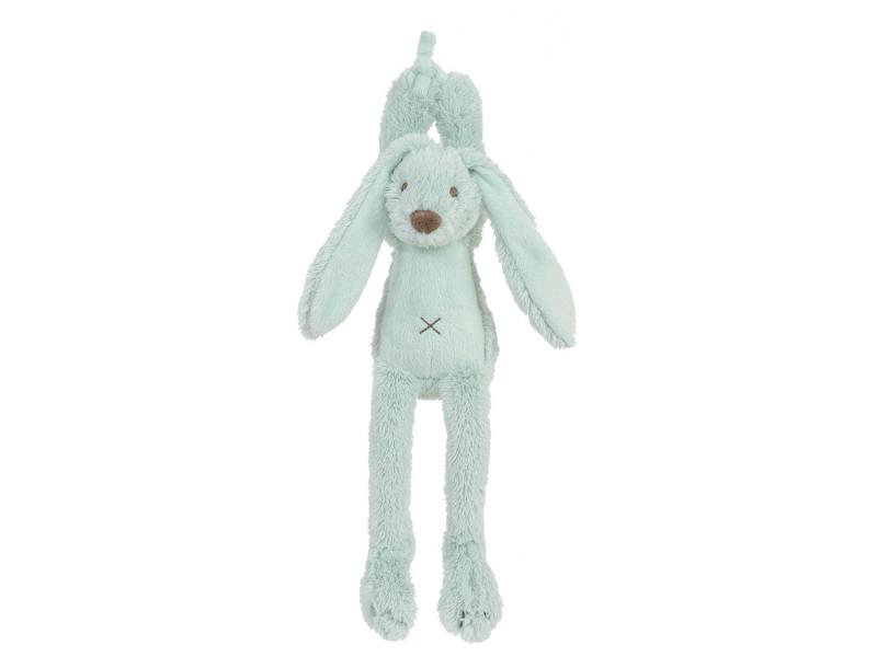 Tyrkysový králíček Richie Hudební vel.34 cm 1