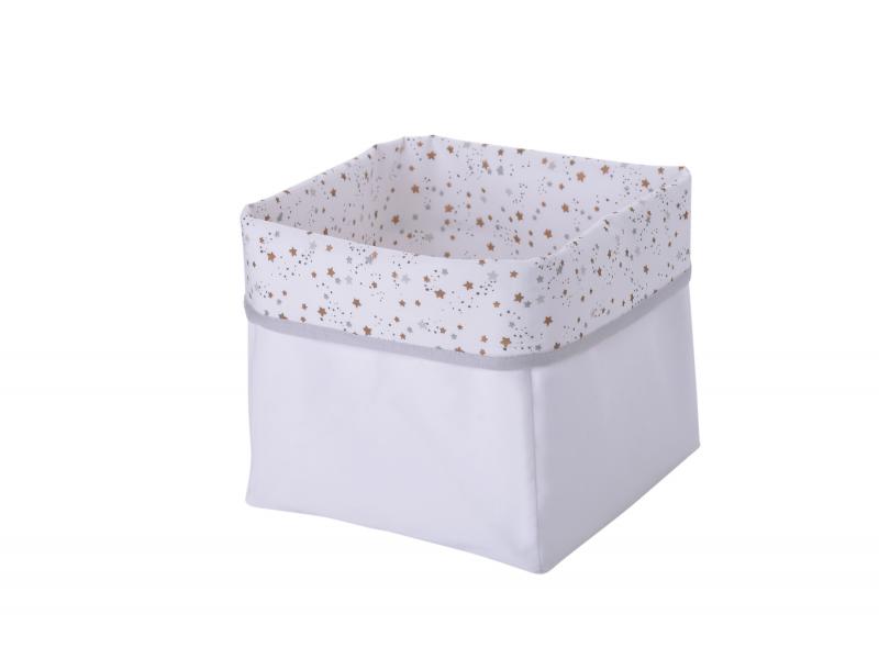 Textilní krabice hvězdičky 1