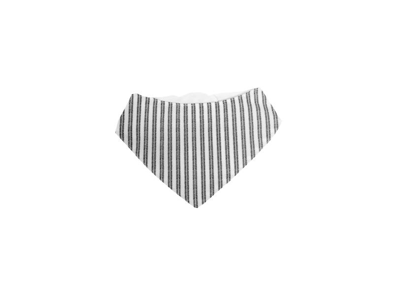 Bryndák šátek šedé proužky 1