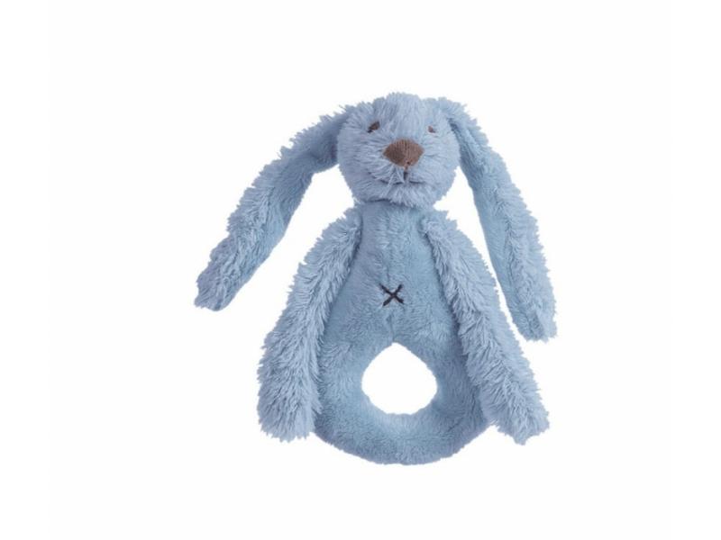 Happy Horse Sytě modrý králíček Richie chrastítko