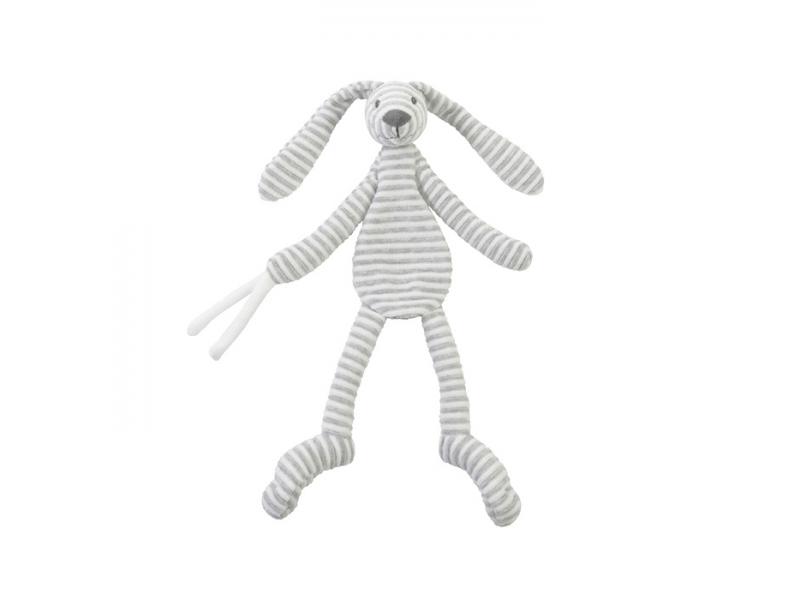 Přítulka králíček Reece šedý 30 cm 1