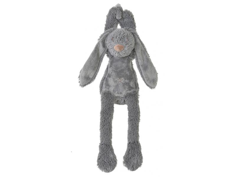 Šedý králíček Richie hudební vel.34 cm 1