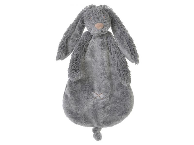 Šedý králíček Richie přítulka vel.25 cm 1
