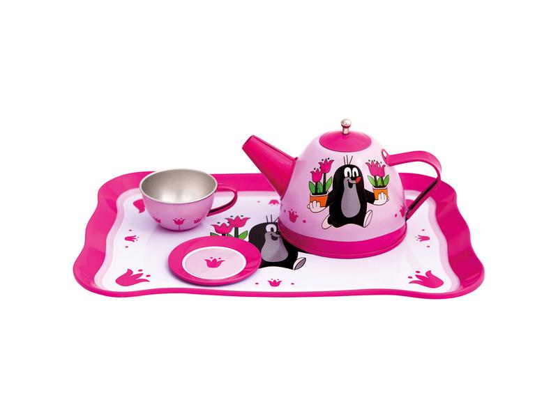 Bino Dětský čajový set - Krtek