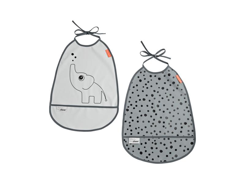 SET 2KS BRYNDÁČKŮ ELPHEE - odstíny šedé 1