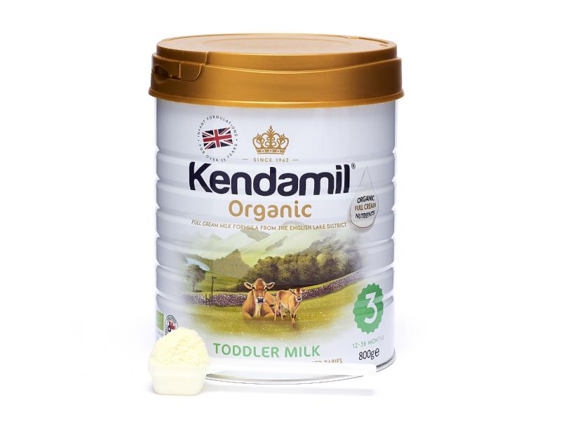 KENDAMIL 100% BIO - organické plnotučné batolecí mléko 3 (800g) 1