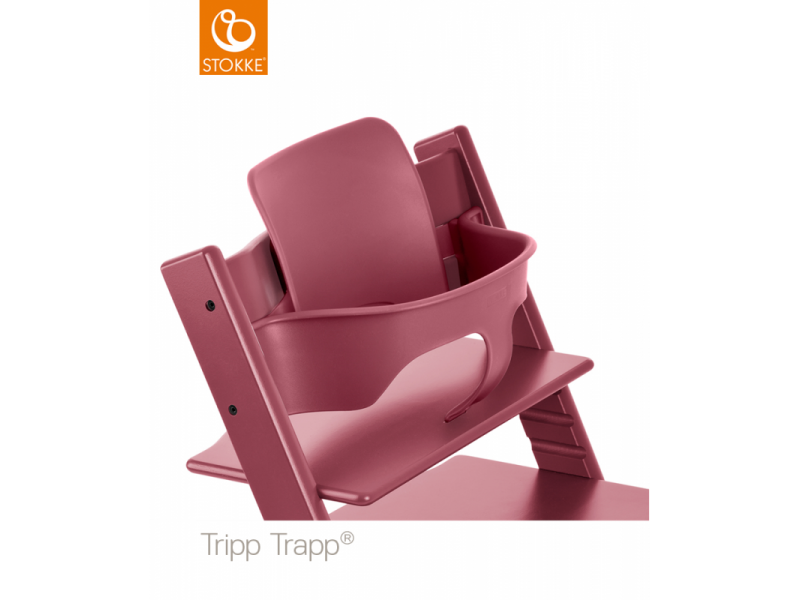 Stokke Baby set Tripp Trapp® - Heather Pink