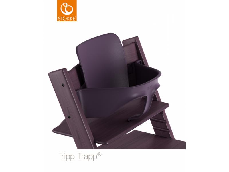 Stokke AS Baby set Tripp Trapp® - Plum purple