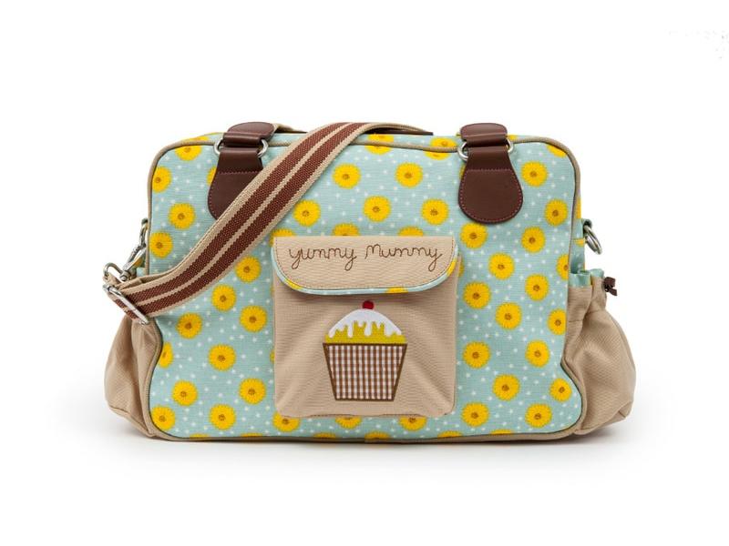 Pink Lining YUMMY MUMMY slunečnice - přebalovací taška