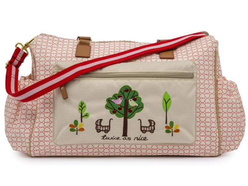 Pink Lining TWINS love - přebalovací taška