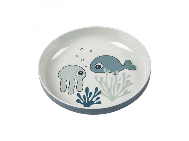 Talíř Sea Friends Yummy - modrá 1