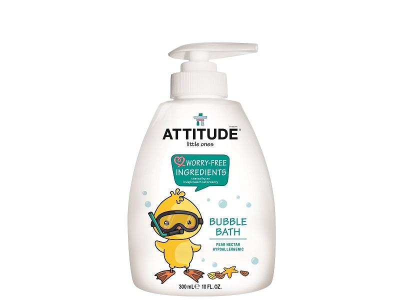 Attitude Dětská pěna do koupele s vůní hruškové šťávy - s pumpičkou 300 ml