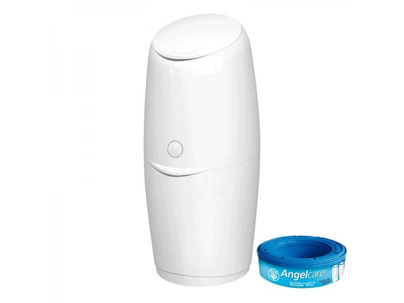 Angelcare Classic - Koš na použité pleny bezzápachový + 1 kazeta (AirSeal fólie)