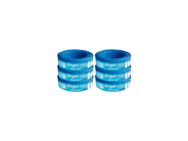 Angelcare Náhradní kazeta do koše - 6 kusů