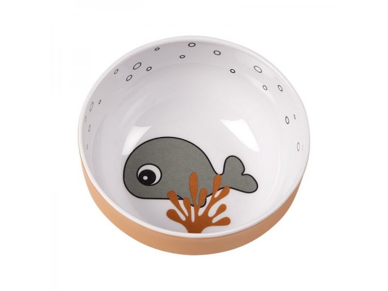 Yummy mini mistička Sea Friends - šedá/hořčicová 1