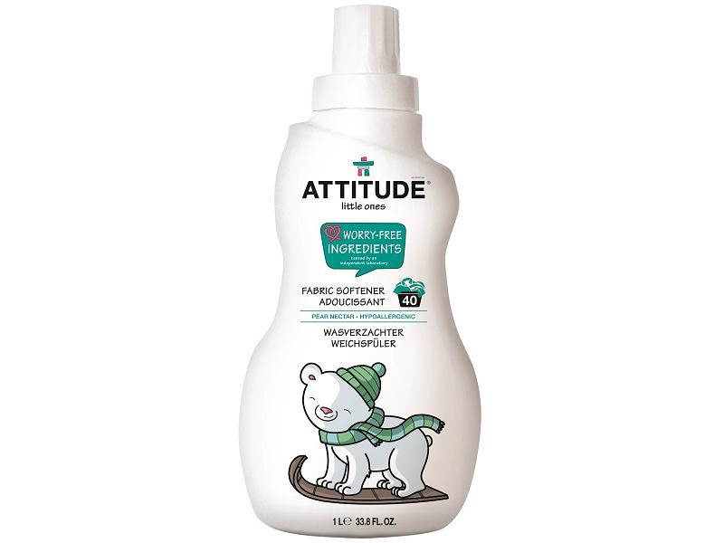 Attitude Aviváž pro děti s vůní hruškové šťávy 1000 ml (40 pracích dávek)