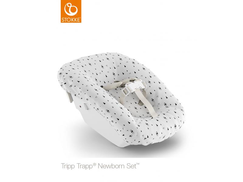 Stokke Potah k novorozeneckému setu Tripp Trapp®, White Mountains (Organic Cotton)