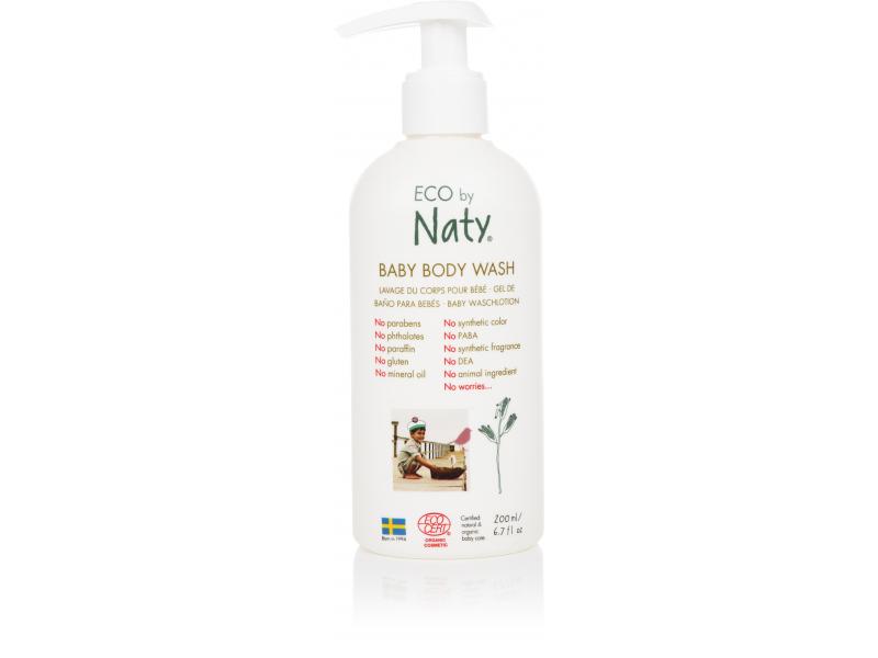 Naty Dětské ECO tělové mýdlo 200 ml