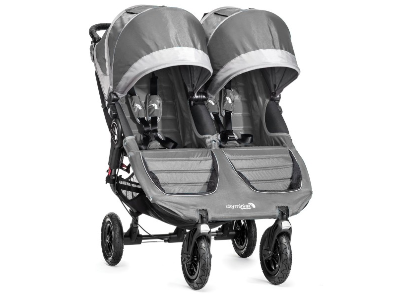 Baby Jogger sourozenecký kočárek CITY MINI GT DOUBLE STEEL GRAY
