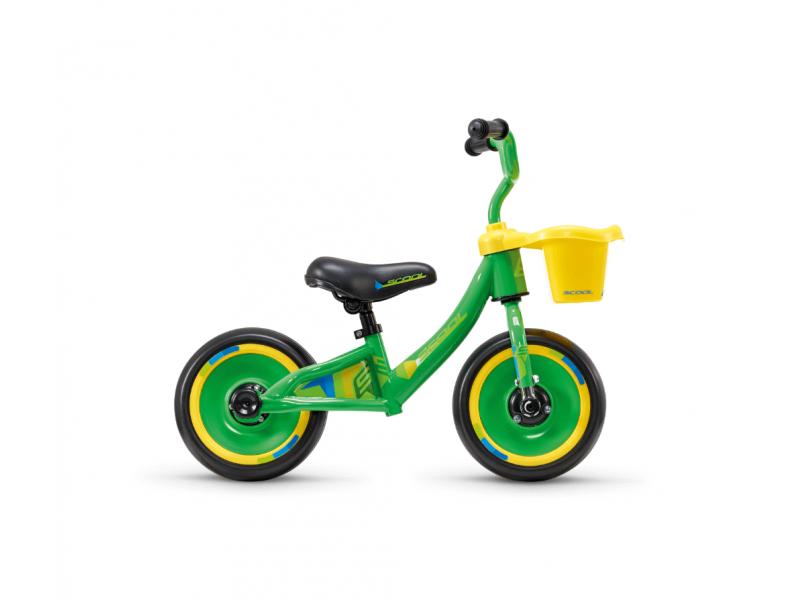 Dětské odrážedlo pedeX 3v1 zeleno-žluté 1